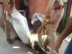 Caught On Camera: UP Cops' Shocking Treatment Of 70-Year-Old Woman