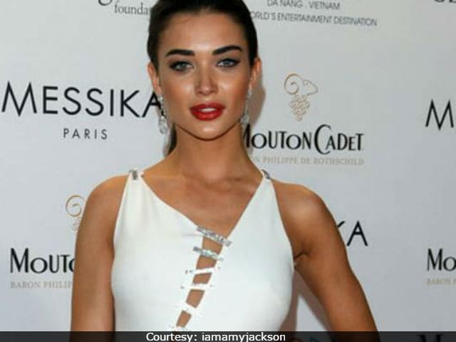 Cannes Film Festival: Amy Jackson Is A Vision In White Versace