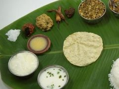The National Lodge in Chennai Serves a Delicious 'Full Meal' for only Rs. 90!