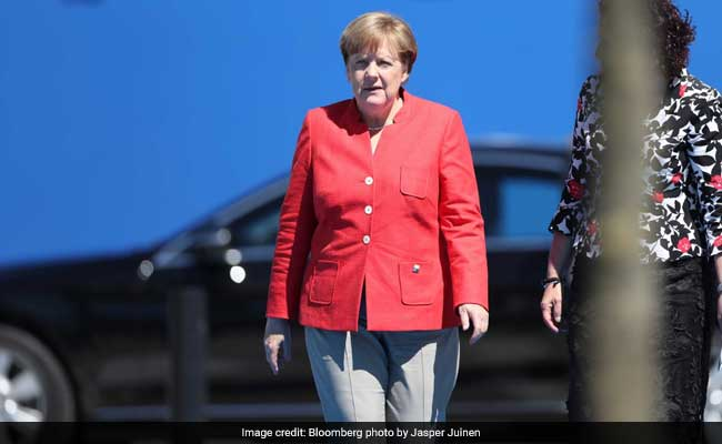 While campaigning, Merkel says Europeans can't 'completely' rely on United States, others