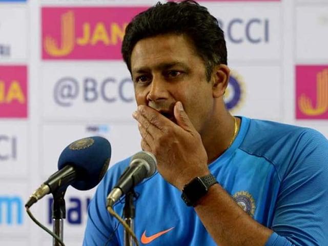 Anil Kumble Resigns As Team India Coach