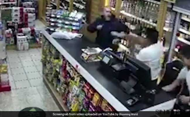 Indian-Origin Shopkeeper In UK Fights Off Robber Using Vodka Bottle, Chair