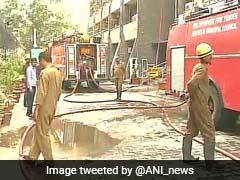 Fire in Delhi's Antriksh Bhawan