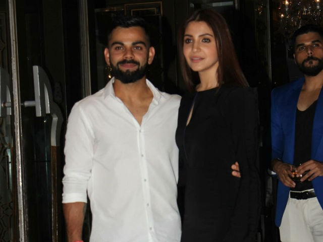 Virat, Anushka arrive hand-in-hand to attend Zaheer-Sagarika's engagement ceremony