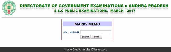 ap ssc class 10 results