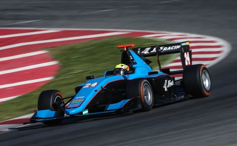 arjun maini jenzer motorsport gp3 series spain