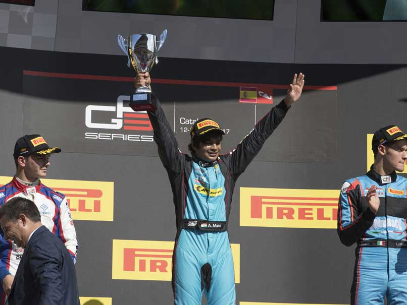 Arjun Maini Scripts History, Becomes First Indian To Win GP3