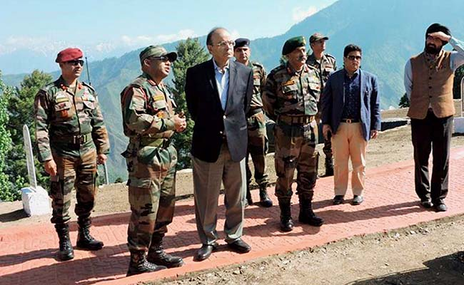 Satisfied Over Readiness Of Troops Along LoC: Defence Minister Arun Jaitley
