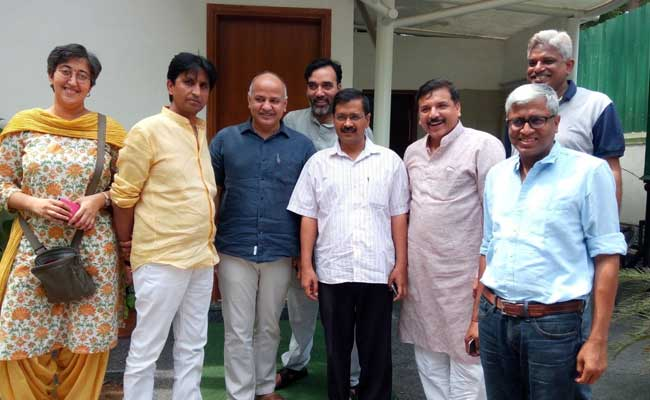 AAP Gets Home Ministry Notice On Funding, Questions Timing