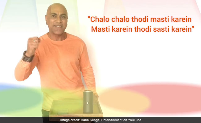 Baba Sehgal's Desi Version Of 'Cheap Thrills' Is An Instant Hit Online