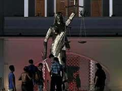 'Un-Islamic' Lady Justice Statue Removed In Dhaka, Hardliners Want All Idols To Go