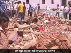 उत्तर प्रदेश : दीवार ढहने से पिता-पुत्र की मौत