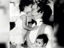 Amitabh Bachchan Delights With Throwback Pic Of Shweta Bachchan Nanda And Abhishek Bachchan