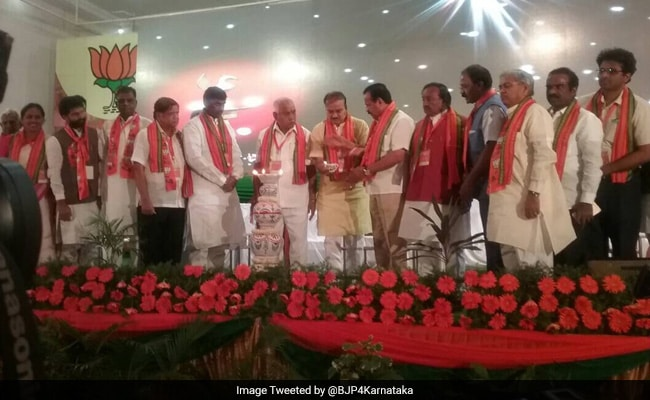 Amid Dissent, BJP Meets In Karnataka For Mission 150