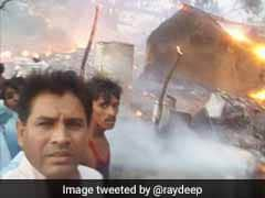Rajasthan BJP Lawmaker's 'Selfie' With Burning Houses Enrages Social Media