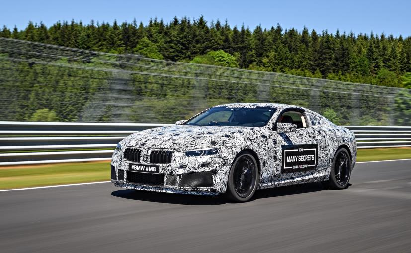 bmw m8 prototype officially teased race spec bmw m8 gte also under development ndtv carandbike. Black Bedroom Furniture Sets. Home Design Ideas