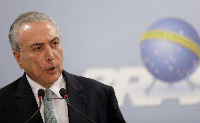 Brazil's President Michel Temer Refuses To Resign Over Corruption Probe