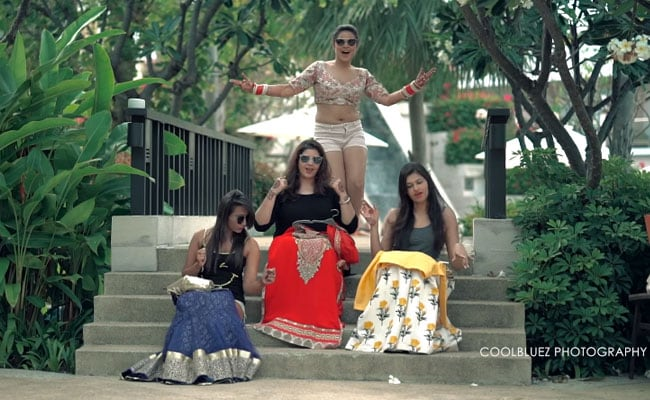 For The Love Of 'Cheap Thrills': Desi Bride's Dance Video Is Trending