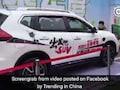 Car's Smart Brake Fails, Runs Into Hostess At Auto Show