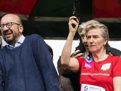 Belgian Prime Minister Charles Michel Deafened By Royal Starting Gun