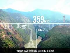 World's Highest Rail Bridge In J&K To Withstand Blast, Earthquake Of Intensity 8
