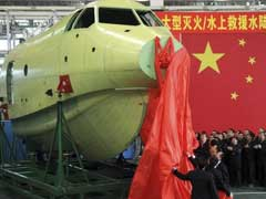 China-Built Amphibious Aircraft Takes Maiden Ground Test: State Media
