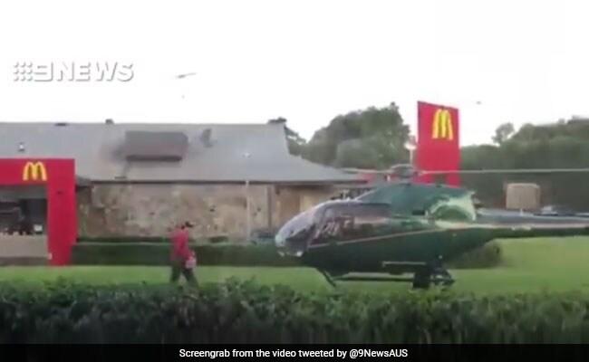 पायलट को लगी थी भूख, इसलिए उड़ता हैलीकॉप्टर उतार दिया मैकडोनाल्ड के सामने...