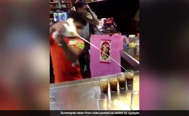 He Makes Cold Coffee In The Quirkiest Way. Video Will Make You Crave One