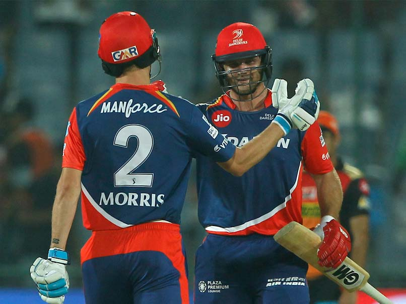 IPL 2017: Delhi Daredevils End Losing Streak, Stun Sunrisers Hyderabad By 6 Wickets