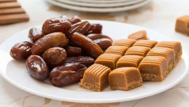 Dates and figs fudge