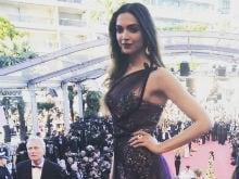 Cannes Film Festival: Deepika Padukone Wins Red Carpet In Stunning Sheer Dress
