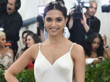 Met Gala 2017: Deepika Padukone In Icy White, Twitter Calls Her A 'Princess'