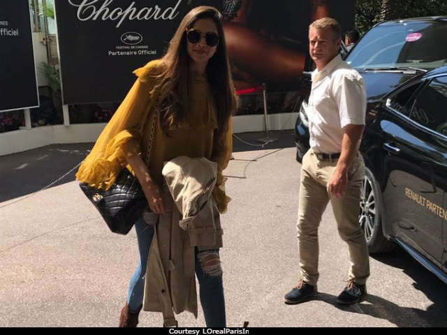 Cannes 2017: Deepika Padukone Arrives In The French Riviera Looking Like This