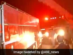 Fire Breaks Out In Delhi's Kashmere Gate
