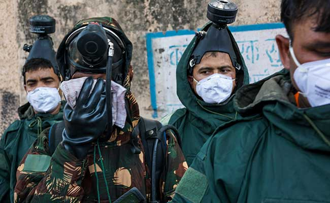 delhi school gas leak afp