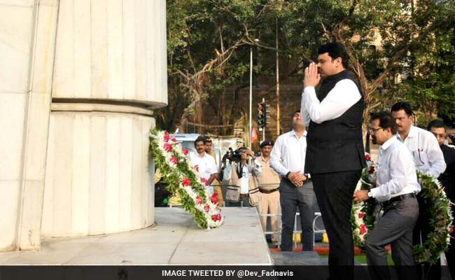 57th Maharashtra Day Celebrated; Tributes Paid To Soldiers
