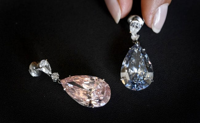 Diamond Earrings Fetch Record $57.4-Million At Swiss Auction
