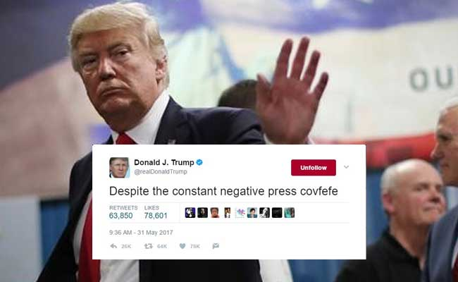 Dear Donald Trump, Thank You For 'Covfefe'. Sincerely, Twitter
