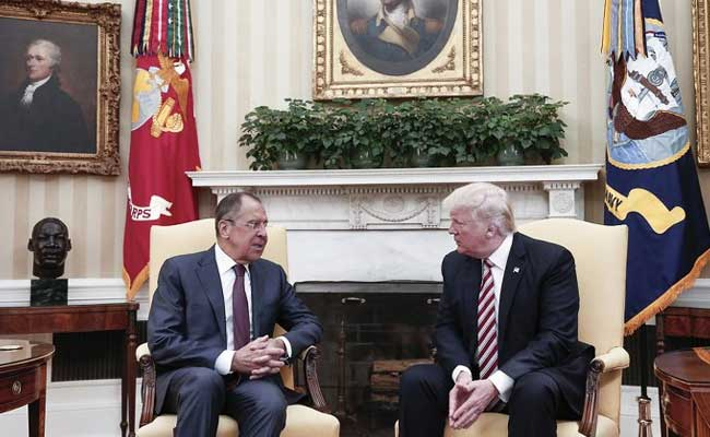 White House Fumes After Moscow Releases Donald Trump Meeting Photos