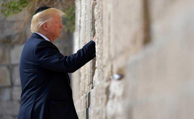 Donald Trump Becomes First Sitting US President To Visit The Western Wall