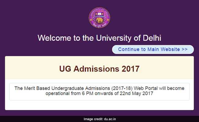 du admission 2017