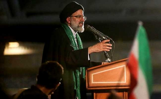 Iran's Hardliner Ebrahim Raisi Claims Voter Fraud In Presidential Election