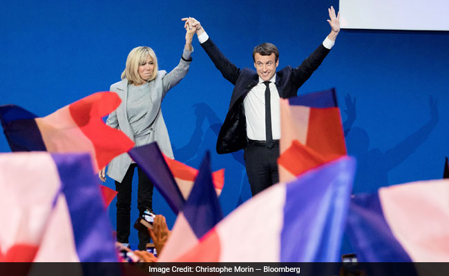 French Women See 'Revenge' In Macron's Marriage To An Older Woman
