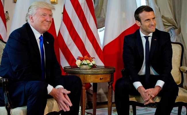 Donald Trump May Reverse Decision On Climate Pact, Says French President Emmanuel Macron