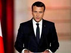 Emmanuel Macron Says France Will Not Recognise Crimea 'Annexation'