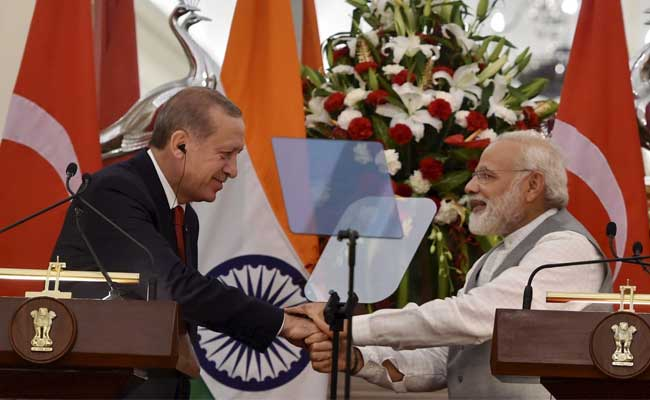 India's Firm Response After Turkish President's Controversial Kashmir Comment: 10 Points