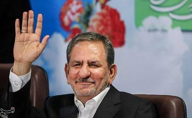 Iran's First Vice President Eshaq Jahangiri Quits The Presidential Race, Backs Hassan Rouhani