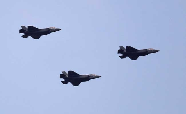 Israel Shows Off F-35 Stealth Fighters, Cost $110 Million Each