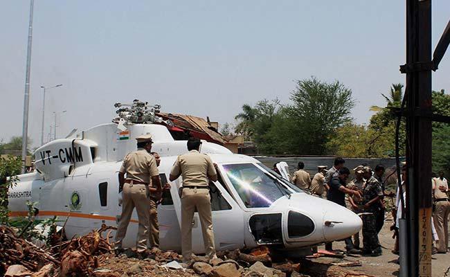 Maharashtra Chief Minister Devendra Fadnavis' Chopper Crash-Lands In Latur. We Are Safe, He Tweets