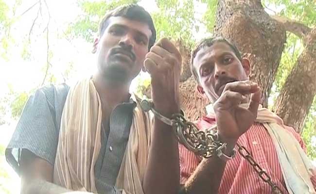 farmers handcuffed